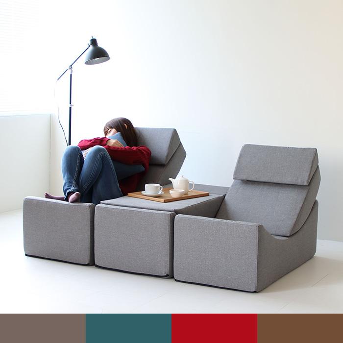 ソファ 一人掛け シングル ベンチ サイドテーブル パーソナルソファ おしゃれ デザイン 1Pソファ・座椅子・一人暮らし・フロアソファ・コンパクトソファ・ファブリック・リラックスチェア