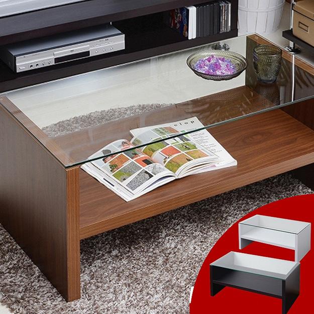 ガラステーブル ローテーブル リビングテーブル センターテーブル e-room