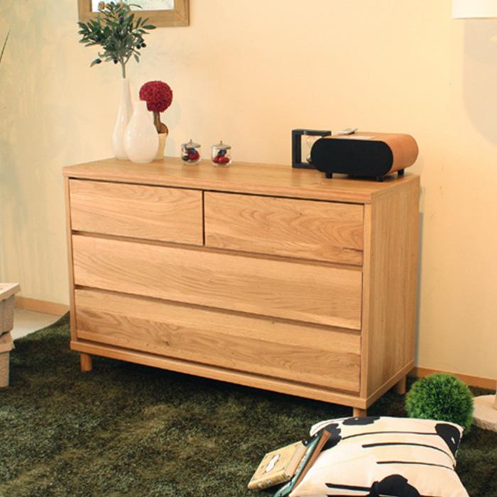 チェスト 収納家具 タンス 引出し 木製 ラック OCTA オクタ 110チェスト 送料無料 e-room