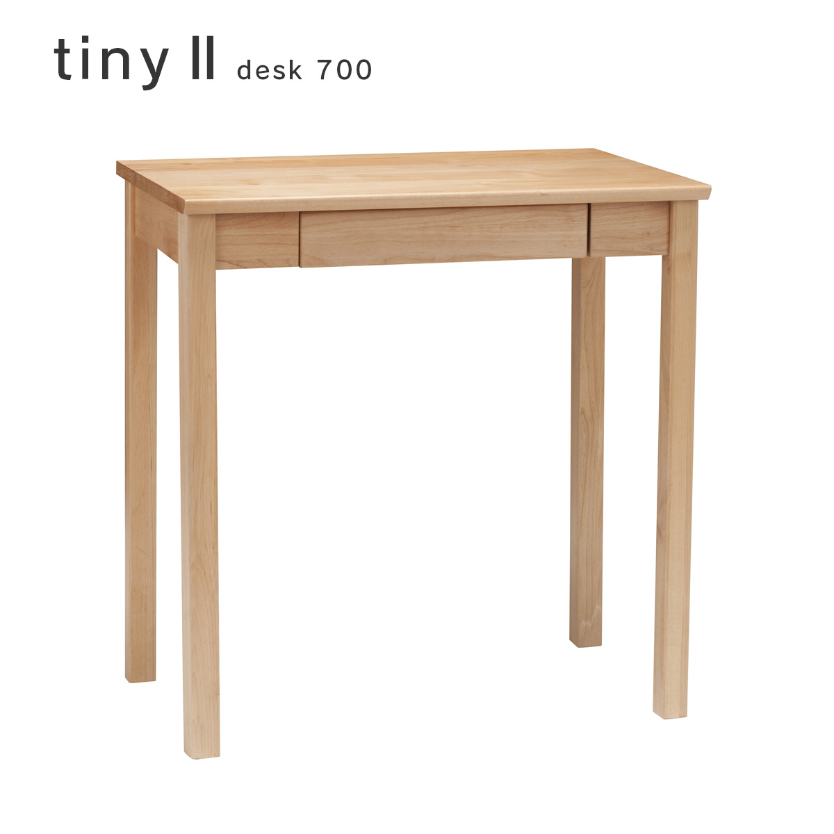 tiny2 デスク700 タイニー2 desk 机 幅70cm e-room