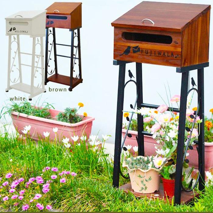 新しく着き スタンドポスト nico nico ポスト 郵便ポスト 郵便ポスト 簡単 設置 北欧 簡易 オシャレ かわいい ビンテージ 北欧 送料無料, 質かわむら:e02071eb --- phcontabil.com.br