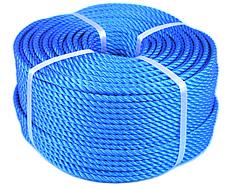 PEロープ・青色10mm200m巻