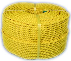 PEロープ・黄色9mm200m巻