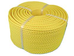 PEロープ・黄色10mm200m巻