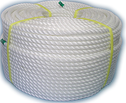 PEロープ・白色12mm200m巻