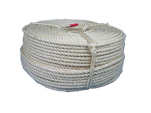 サイザル麻ロープ 8mm200m