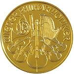 【新品未使用】 金貨 24金 ウィーン金貨 1/10オンス 1/10oz オーストリア ランダムイヤー 金地金 純金 k24 24k 硬貨 コイン 貴金属
