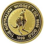 【新品未使用】 金貨 24金 カンガルー金貨 1オンス 1oz オーストラリア 1986年~ 金地金 純金 k24 24k|硬貨 コイン 貴金属