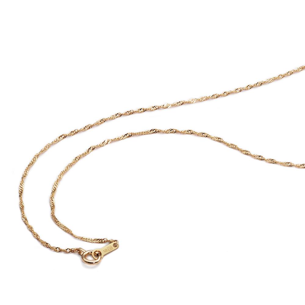 ネックレス チェーン 18金 イエローゴールド スクリューチェーン 幅1.2mm 長さ38cm|鎖 K18YG 18k 貴金属 ジュエリー レディース メンズ