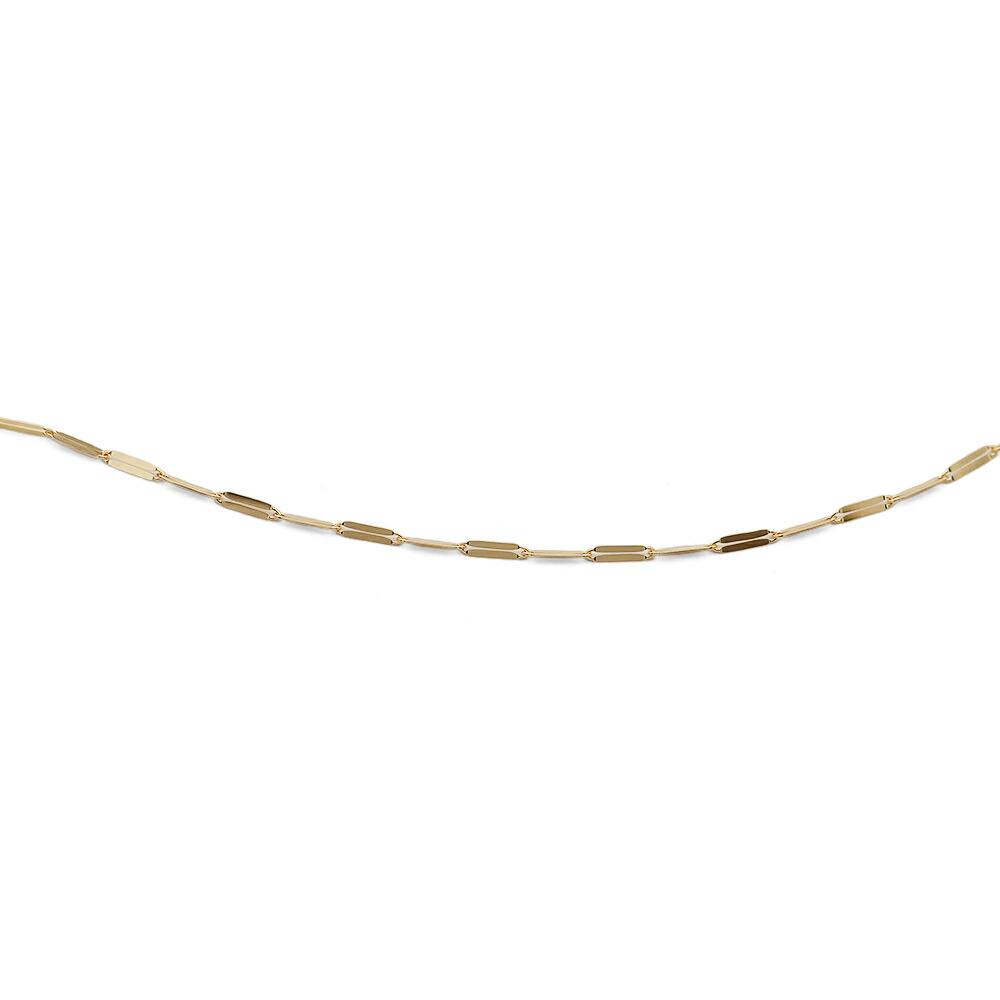 ネックレス チェーン 18金 イエローゴールド スパングルチェーン 幅1.7mm|鎖 K18YG 18k 貴金属 ジュエリー レディース