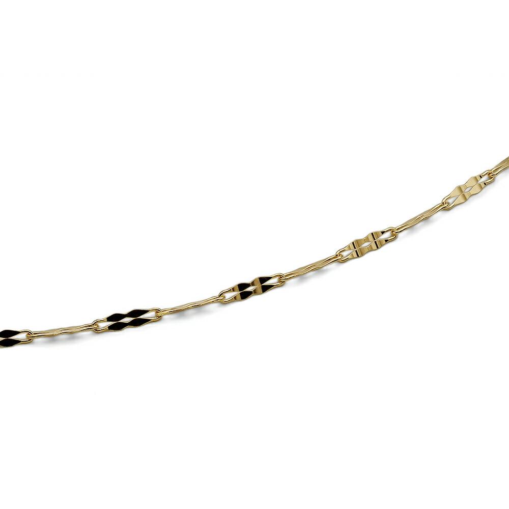 【刻印サービス有】日本製18金無垢のネックレスです、プレゼントや資産としてもお勧め致します。 ネックレス チェーン 18金 イエローゴールド 2ペダルチェーン 幅1.8mm|鎖 K18YG 18k 貴金属 ジュエリー レディース