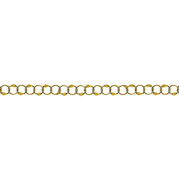 ネックレス チェーン 18金 イエローゴールド バブルチェーン 幅4.4mm|鎖 K18YG 18k 貴金属 ジュエリー レディース
