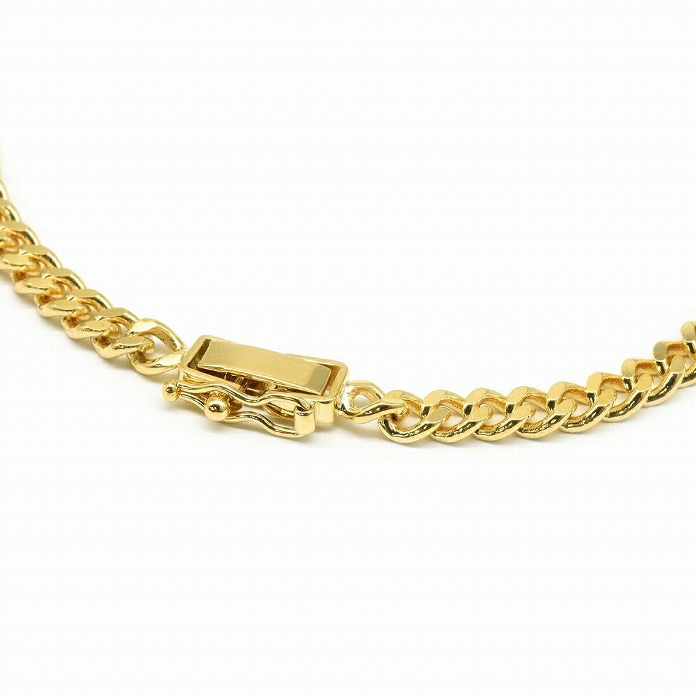 ネックレス チェーン 18金 イエローゴールド 2面カット喜平チェーン 幅4.15mm|鎖 K18YG 18k 貴金属 ジュエリー レディース メンズ