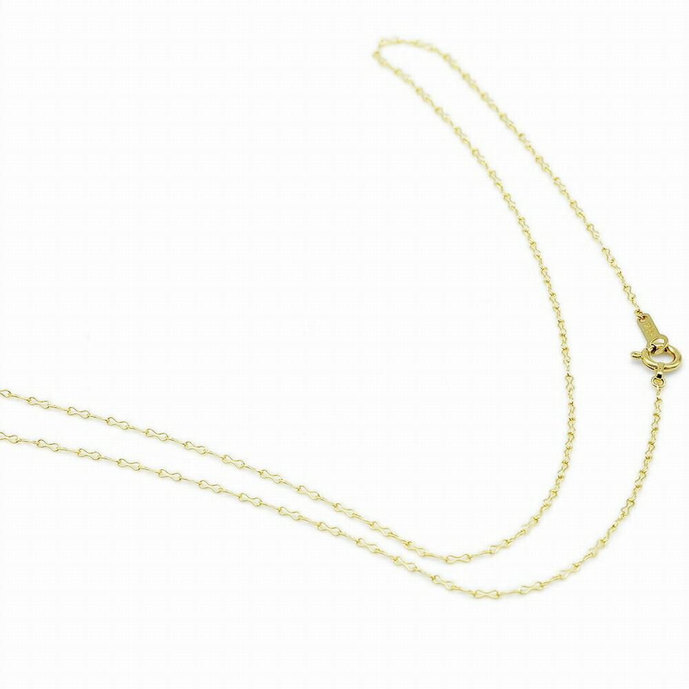 ネックレス チェーン 18金 イエローゴールド リボンチェーン 幅1.1mm|鎖 K18YG 18k 貴金属 ジュエリー レディース
