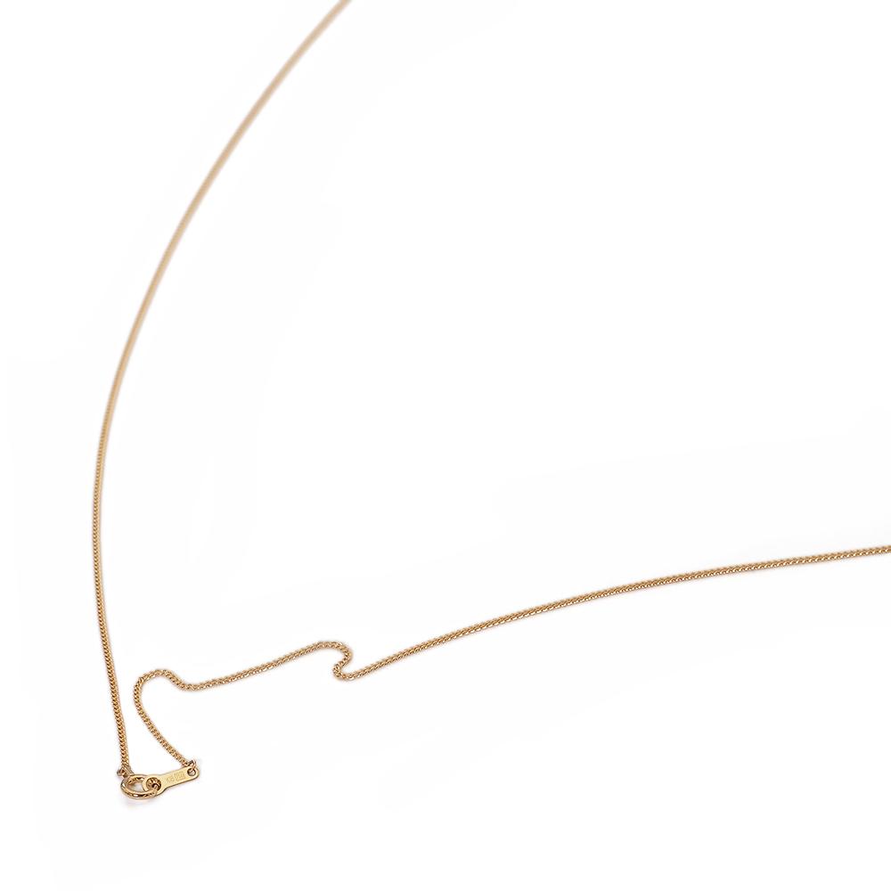 ネックレス チェーン 18金 イエローゴールド 2面カット喜平チェーン 幅1.0mm 長さ38cm|鎖 K18YG 18k 貴金属 ジュエリー レディース メンズ