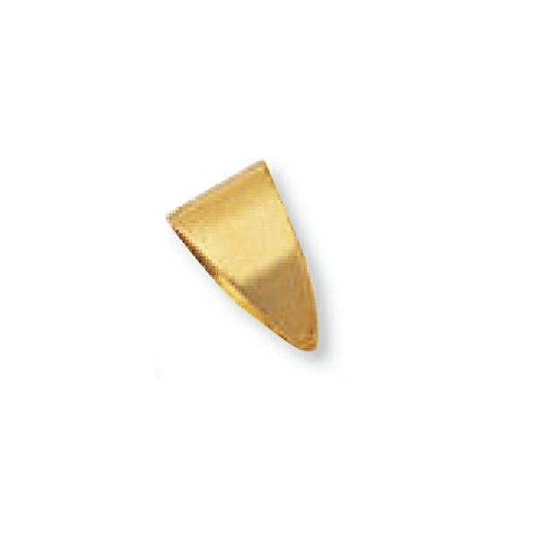 【1個売り】 バチカン 18金 イエローゴールド シンプルバチカン 縦10.0mm 横6.0mm ペンダントトップ用|手芸用品 金具 飾り パーツ 部品 K18YG 18k 貴金属