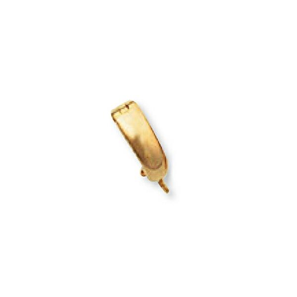 【1個売り】 バチカン 18金 イエローゴールド ジョイントバチカン セーフティー付き 環付き 11.5mm玉迄 ペンダントトップ用|手芸用品 金具 飾り パーツ 部品 K18YG 18k 貴金属