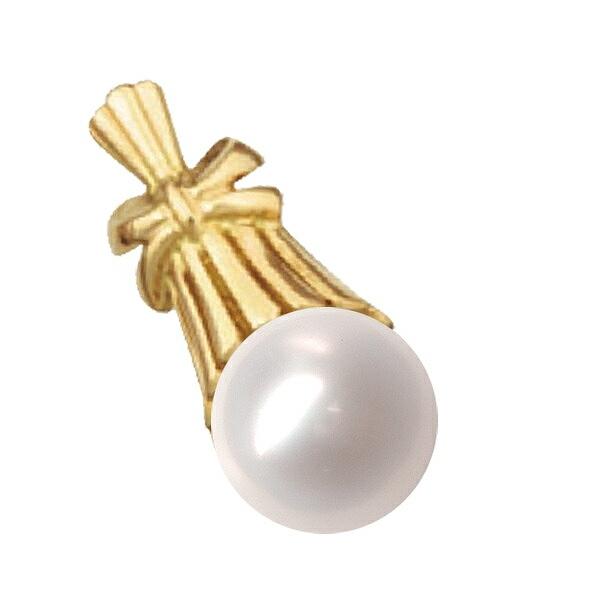 高級感漂う18金と真珠のペンダント ペンダントトップ 18金 上等 イエローゴールド あこや真珠ペンダント 10.0mm玉 ペンダントヘッドのみ レディース パール ジュエリー 18k 貴金属 K18YG 日本最大級の品揃え