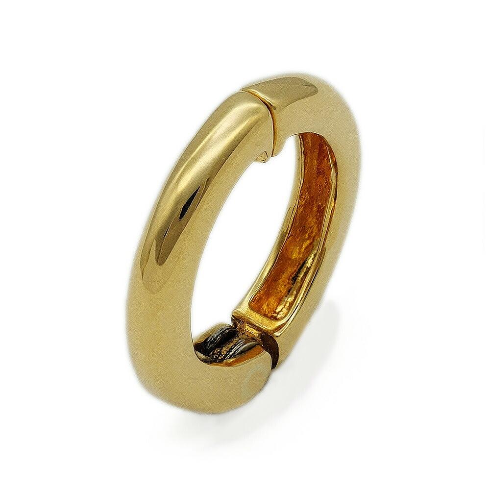 【バラ売り/1個】 イヤリング 18金 イエローゴールド ピアリング丸型 幅2.0mm 直径13.0mm|K18YG 18k 貴金属 ジュエリー レディース メンズ