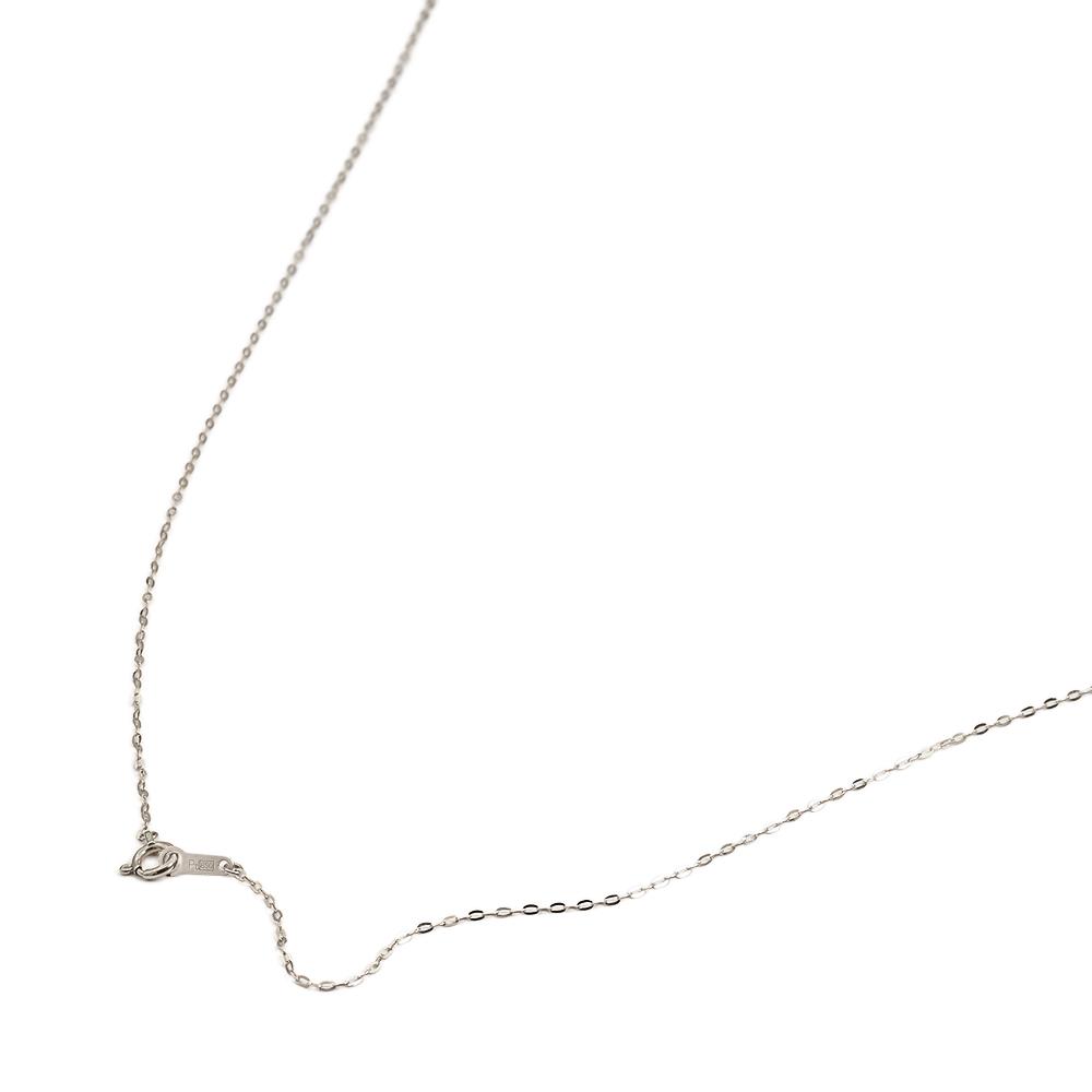 ネックレス チェーン PT850 プラチナ 小判みたいなチェーン 幅1.1mm 長さ38cm 鎖 850pt 貴金属 ジュエリー レディース メンズ