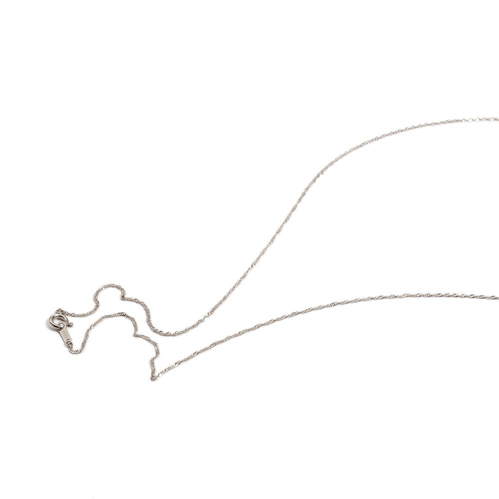 ネックレス チェーン PT850 プラチナ スクリューチェーン 幅0.9mm 長さ38cm|鎖 850pt 貴金属 ジュエリー レディース メンズ