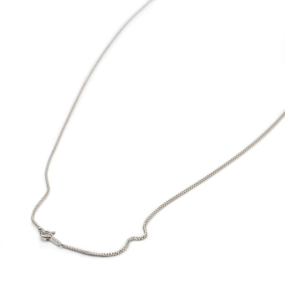 ネックレス チェーン PT850 プラチナ ベネチアンチェーン 幅1.0mm 長さ38cm|鎖 850pt 貴金属 ジュエリー レディース メンズ