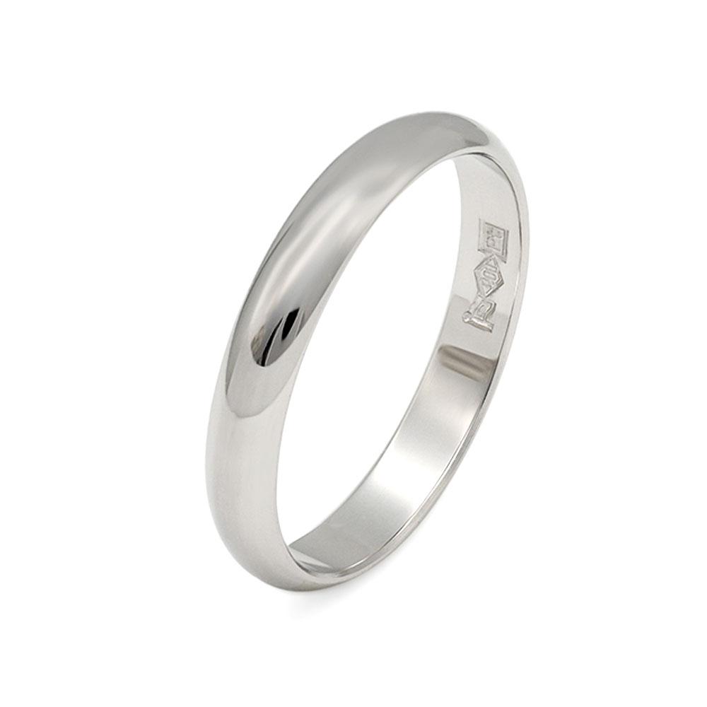 指輪 PT900 プラチナ 甲丸リング 幅3.5mm 地金リング|900pt 貴金属 ジュエリー レディース メンズ