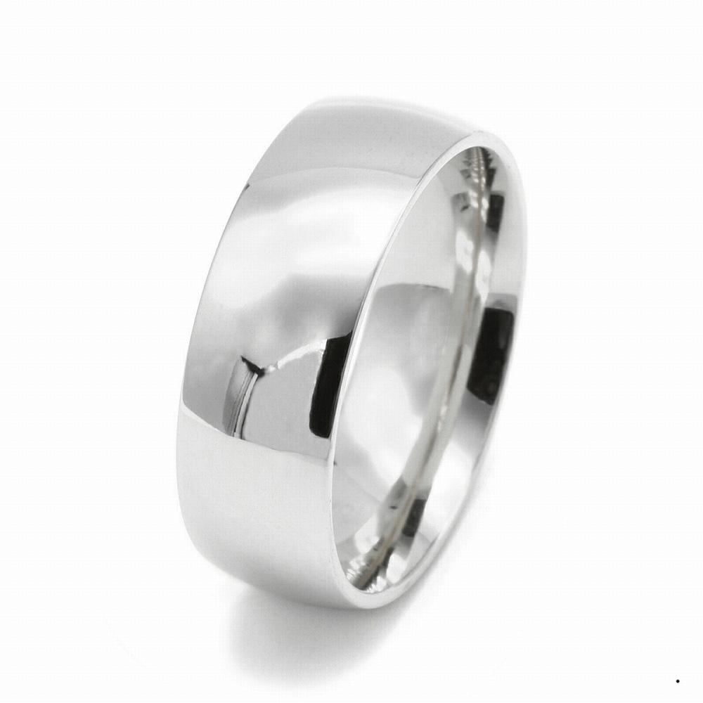 指輪 PT900 プラチナ 甲丸リング 幅10.0mm ピンキーリングもございます 地金リング|900pt 貴金属 ジュエリー レディース メンズ