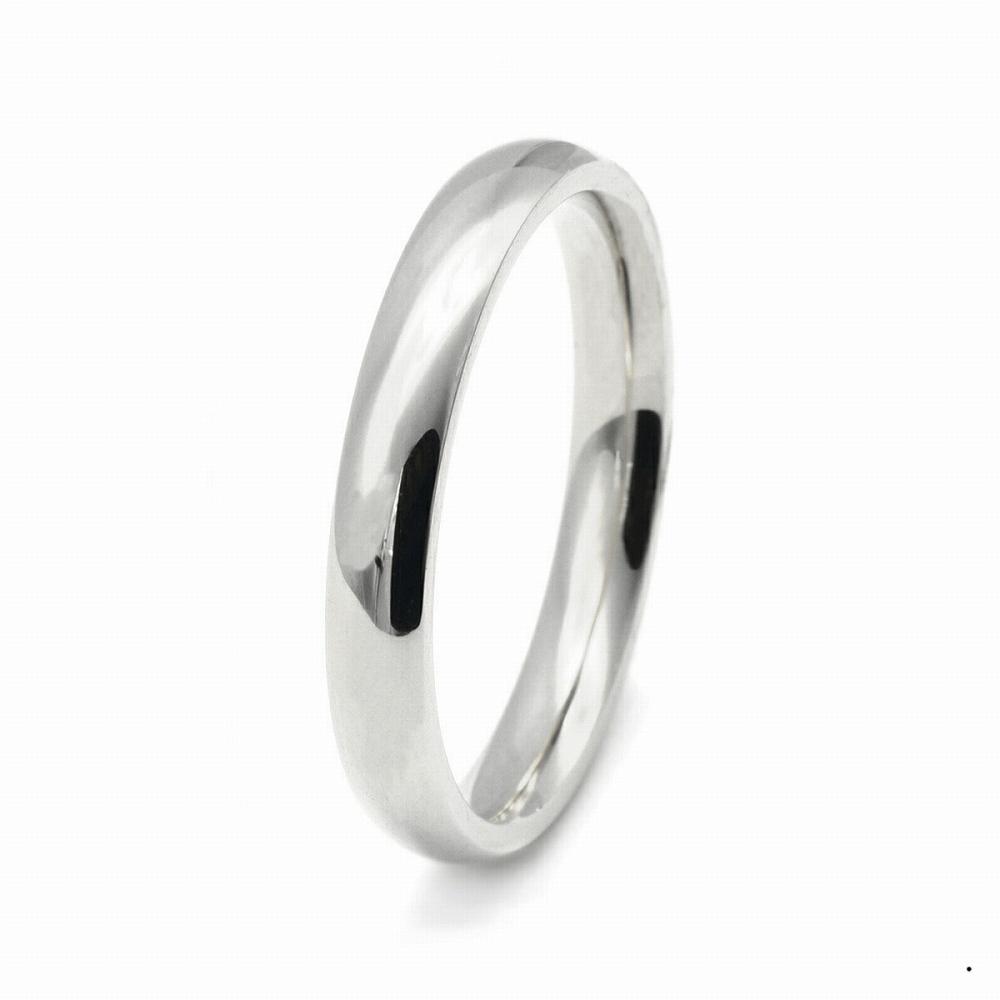 指輪 PT900 プラチナ 甲丸リング 幅2.5mm ピンキーリングもございます 地金リング|900pt 貴金属 ジュエリー レディース メンズ