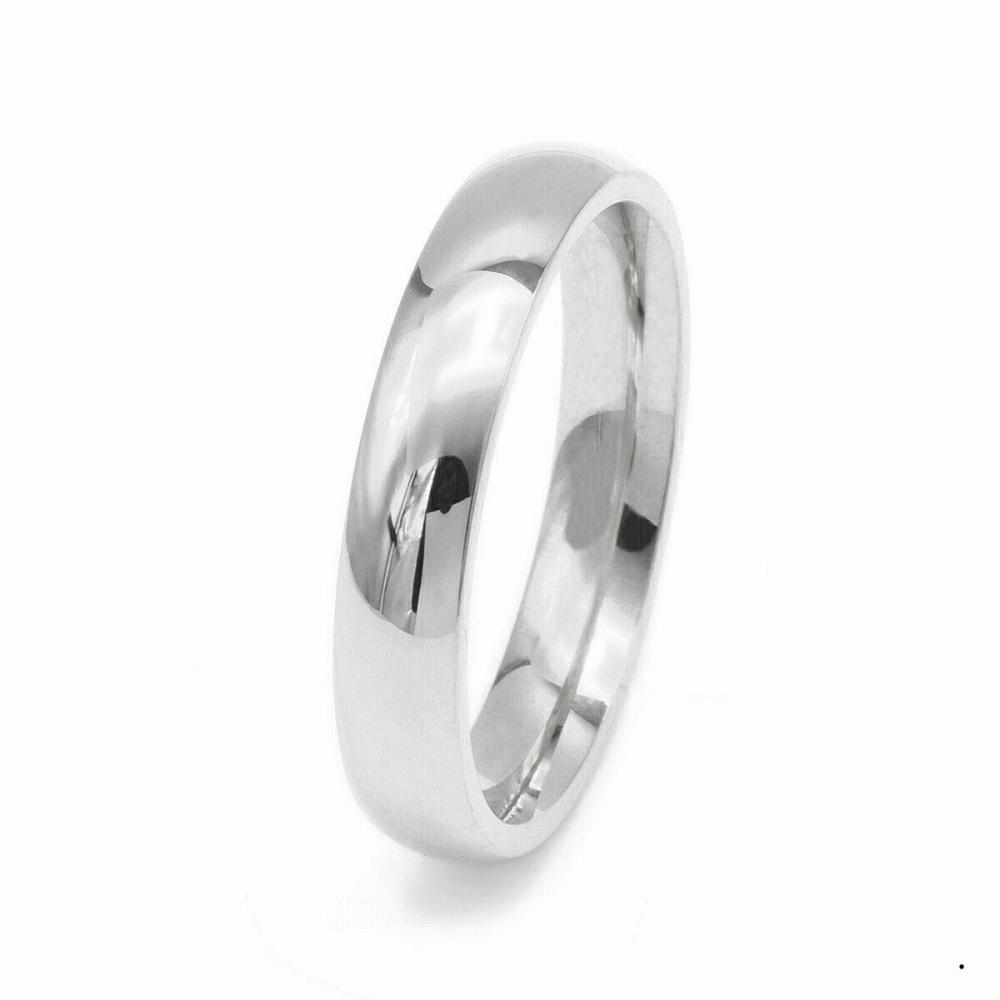 指輪 PT900 プラチナ 甲丸リング 幅4.0mm ピンキーリングもございます 地金リング|900pt 貴金属 ジュエリー レディース メンズ