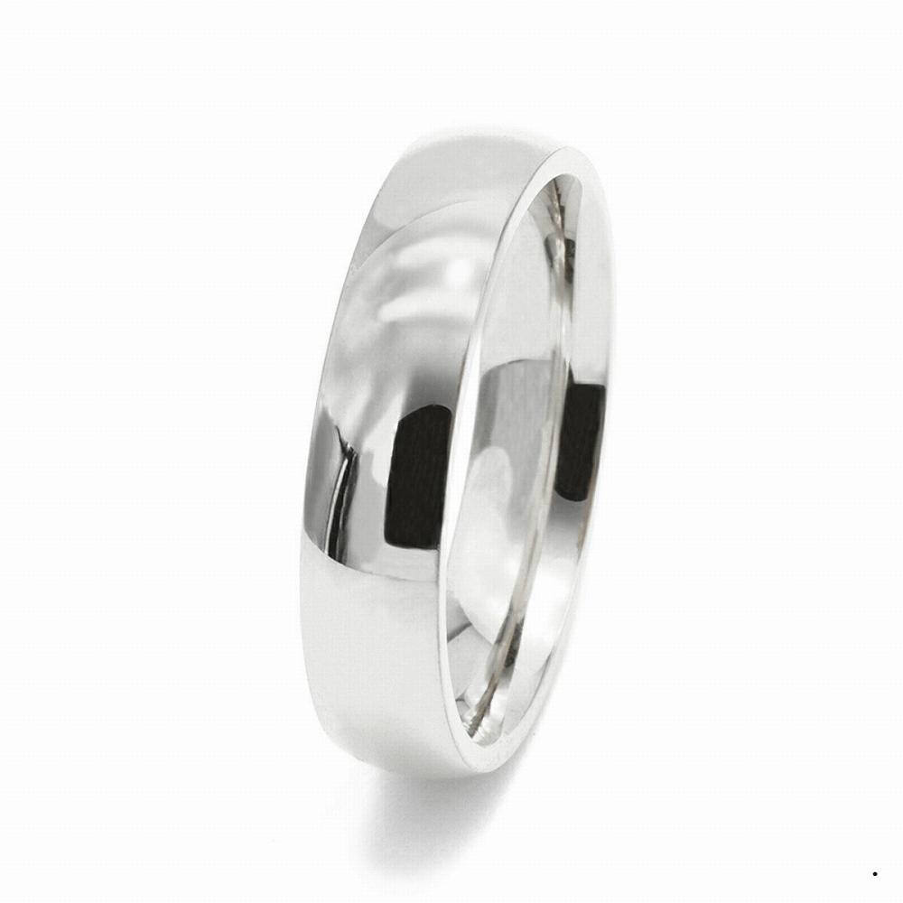 指輪 PT900 プラチナ 甲丸リング 幅5.0mm ピンキーリングもございます 地金リング|900pt 貴金属 ジュエリー レディース メンズ