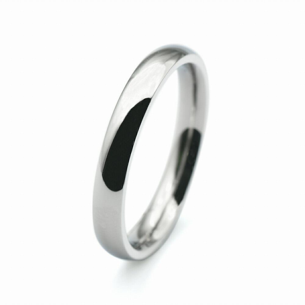 <title>金属アレルギーに強い 医療用ステンレス製の指輪 指輪 サージカルステンレス シンプルな甲丸リング 幅3.0mm 銀色 シルバー 医療用ステンレス アクセサリー レディース 予約販売品 メンズ</title>