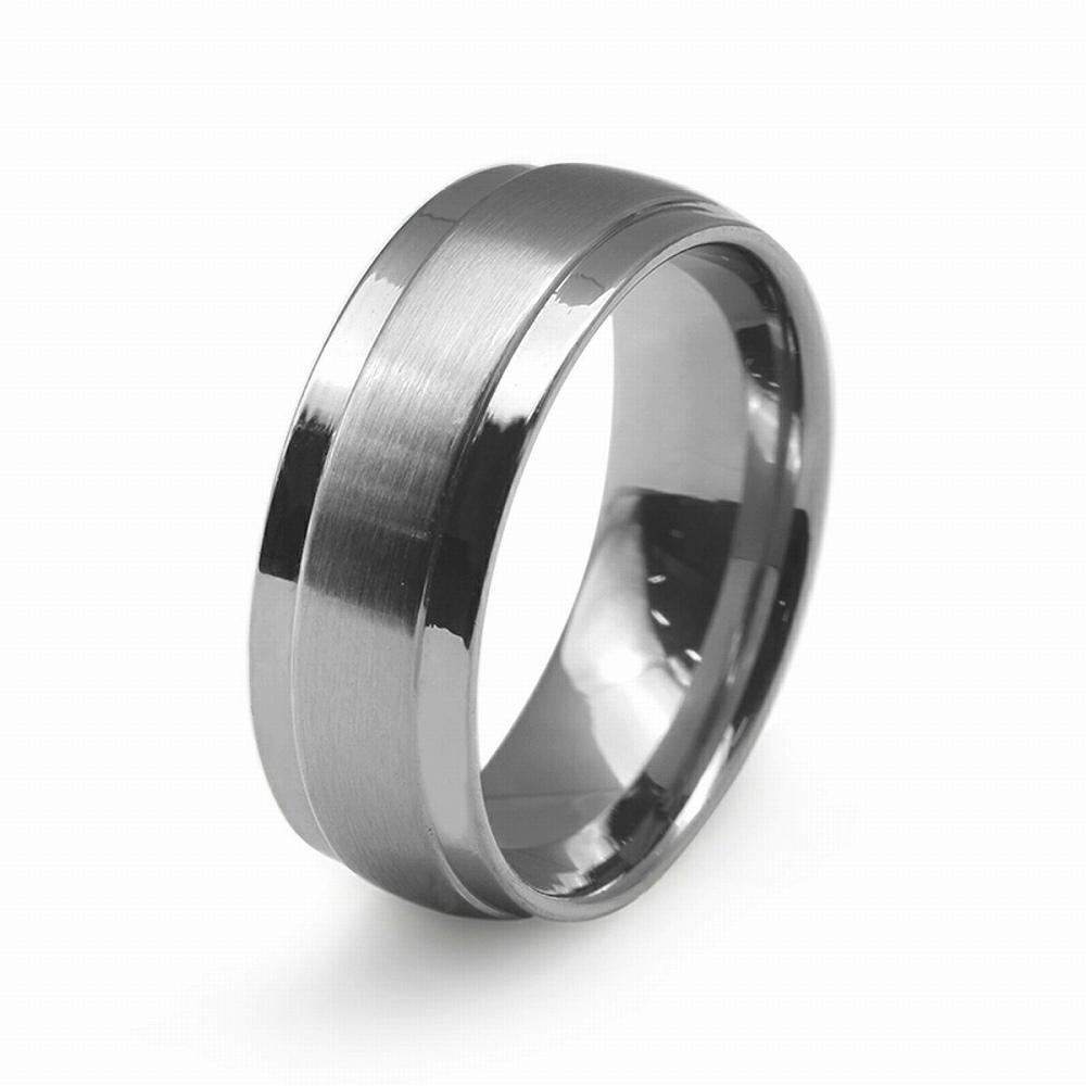 金属アレルギーに強い 医療用ステンレス製の指輪 指輪 開催中 サージカルステンレス 段付きリング フラットタイプ 幅7.0mm 医療用ステンレス レディース ストア メンズ アクセサリー 銀色 シルバー