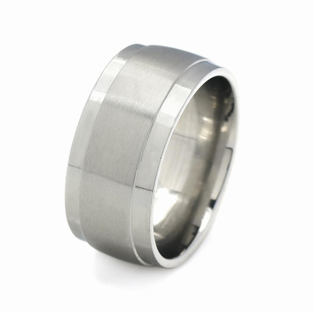 金属アレルギーに強い 医療用ステンレス製の指輪 指輪 サージカルステンレス 段付きリング フラットタイプ 幅9.0mm シルバー 開催中 特別セール品 メンズ 医療用ステンレス レディース アクセサリー 銀色