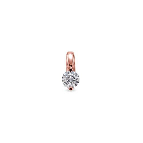 ペンダントトップ 18金 ピンクゴールド 天然石 一粒ペンダント 主石の直径約4.8mm 二本爪留め ペンダントヘッドのみ|K18PG 18k 貴金属 ジュエリー レディース メンズ
