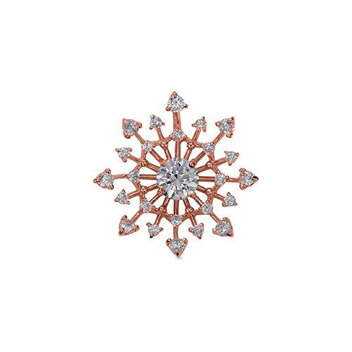ペンダントトップ 18金 ピンクゴールド 天然石 透かし取り巻きペンダント 主石の直径約4.4mm 四本爪留め ペンダントヘッドのみ|K18PG 18k 貴金属 ジュエリー レディース メンズ