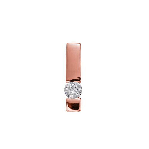 ペンダントトップ 18金 ピンクゴールド 天然石 一粒ペンダント 主石の直径約4.4mm レール留め ペンダントヘッドのみ|K18PG 18k 貴金属 ジュエリー レディース メンズ