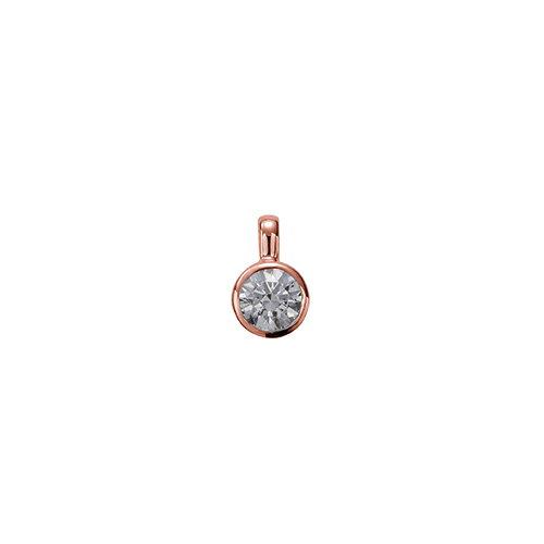 ペンダントトップ 18金 ピンクゴールド 天然石 一粒ペンダント 主石の直径約5.2mm 伏せ込み ペンダントヘッドのみ|K18PG 18k 貴金属 ジュエリー レディース メンズ