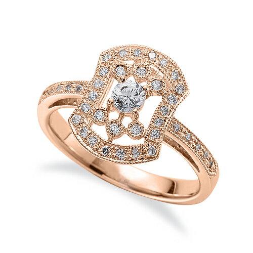 主石の種類が選べる 高級感が漂う18金と天然石の指輪 指輪 18金 ピンクゴールド 天然石 メレ周りミル打ちの取り巻きリング 主石の直径約3.4mm 現金特価 四本爪留め 18k メンズ K18PG ジュエリー 貴金属 結婚祝い レディース