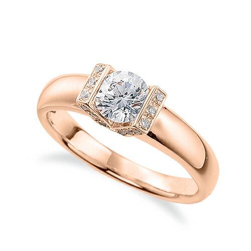最新な 指輪 18金 貴金属 ピンクゴールド 天然石 サイドストーンリング 主石の直径約5.2mm K18PG 18k 貴金属 ピンクゴールド レディース ジュエリー レディース メンズ, ボンペリエール:be178ec4 --- plateau.ru