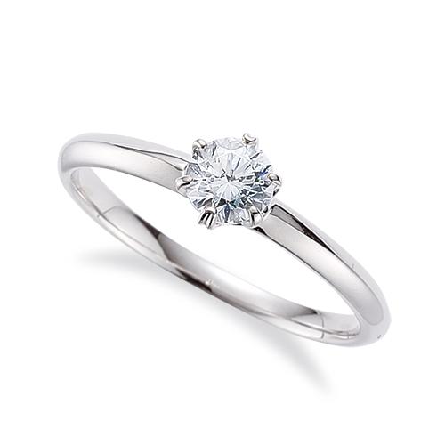 指輪 18金 ホワイトゴールド 天然石 一粒リング 主石の直径約4.4mm ソリティア 六本爪留め|K18WG 18k 貴金属 ジュエリー レディース メンズ
