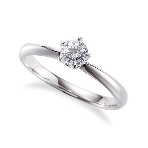指輪 18金 ホワイトゴールド 天然石 一粒リング 主石の直径約5.2mm ソリティア しぼり腕 五本爪留め|K18WG 18k 貴金属 ジュエリー レディース メンズ