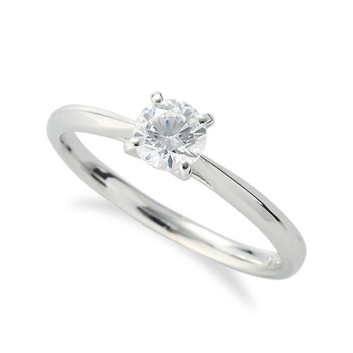 指輪 18金 ホワイトゴールド 天然石 一粒リング 主石の直径約4.4mm ソリティア しぼり腕 四本爪留め|K18WG 18k 貴金属 ジュエリー レディース メンズ