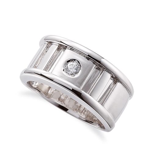 指輪 18金 ホワイトゴールド 天然石 一粒リング 主石の直径約3.0mm ソリティア|K18WG 18k 貴金属 ジュエリー レディース メンズ