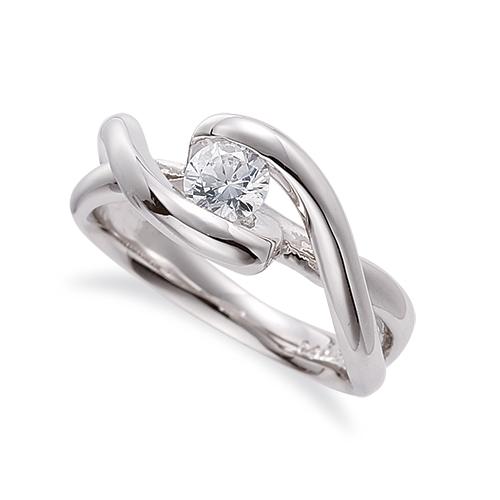 指輪 18金 ホワイトゴールド 天然石 腕のラインがスタイリッシュな一粒リング 主石の直径約5.2mm ソリティア 割り腕 レール留め|K18WG 18k 貴金属 ジュエリー レディース メンズ