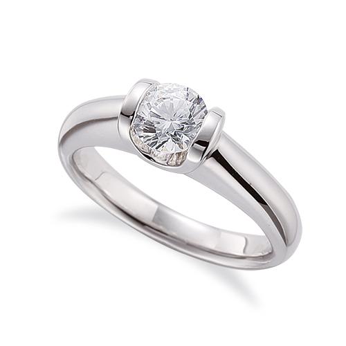 指輪 18金 ホワイトゴールド 天然石 一粒リング 主石の直径約5.2mm ソリティア|K18WG 18k 貴金属 ジュエリー レディース メンズ