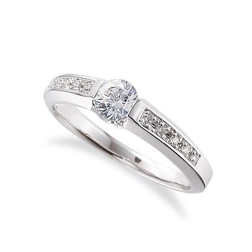 指輪 18金 ホワイトゴールド 天然石 サイド一文字リング 主石の直径約5.2mm|K18WG 18k 貴金属 ジュエリー レディース メンズ
