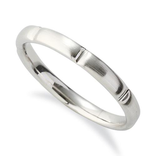 指輪 18金 ホワイトゴールド シンプルモダンなデザインリング 幅2.6mm|K18WG 18k 貴金属 ジュエリー レディース メンズ