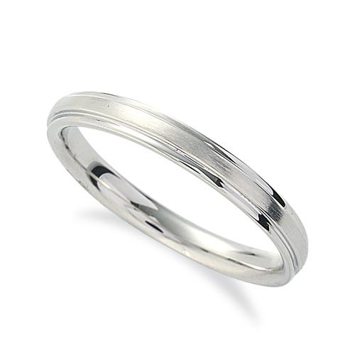 指輪 18金 ホワイトゴールド シンプルな段付きリング 幅2.6mm|K18WG 18k 貴金属 ジュエリー レディース メンズ