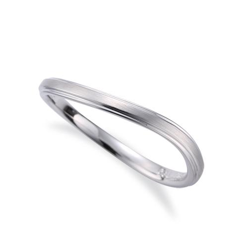 指輪 18金 ホワイトゴールド 段付きウェーブリング 幅2.1mm|K18WG 18k 貴金属 ジュエリー レディース メンズ